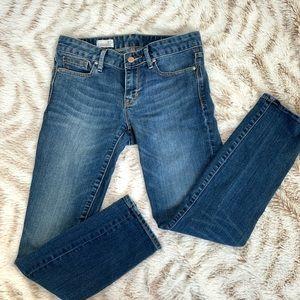 Gap 1969 always Skinny Jeans Ankle Cut 27 blue